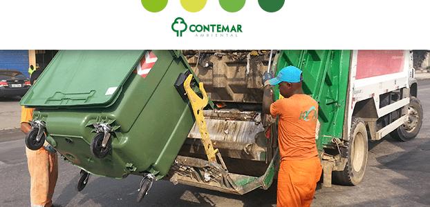 Coletor de lixo e acidentes de trabalho