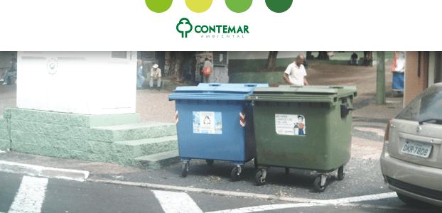 Contentor de lixo: como usar?