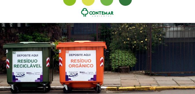 reciclagem do lixo doméstico