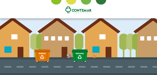 Diferença entre o lixo orgânico e inorgânico